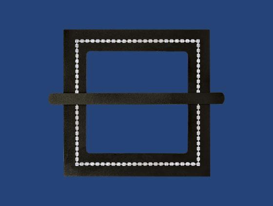 Square Silver Cupchain